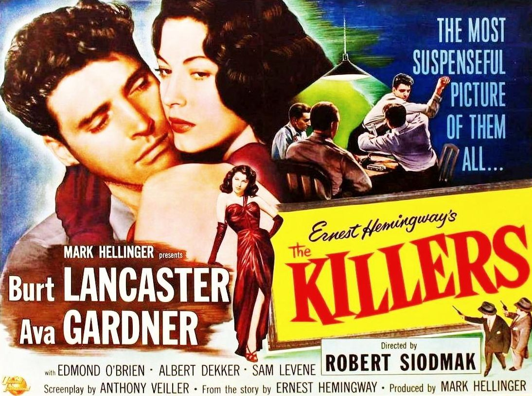 Image result for THE KILLERS 1946 movie
