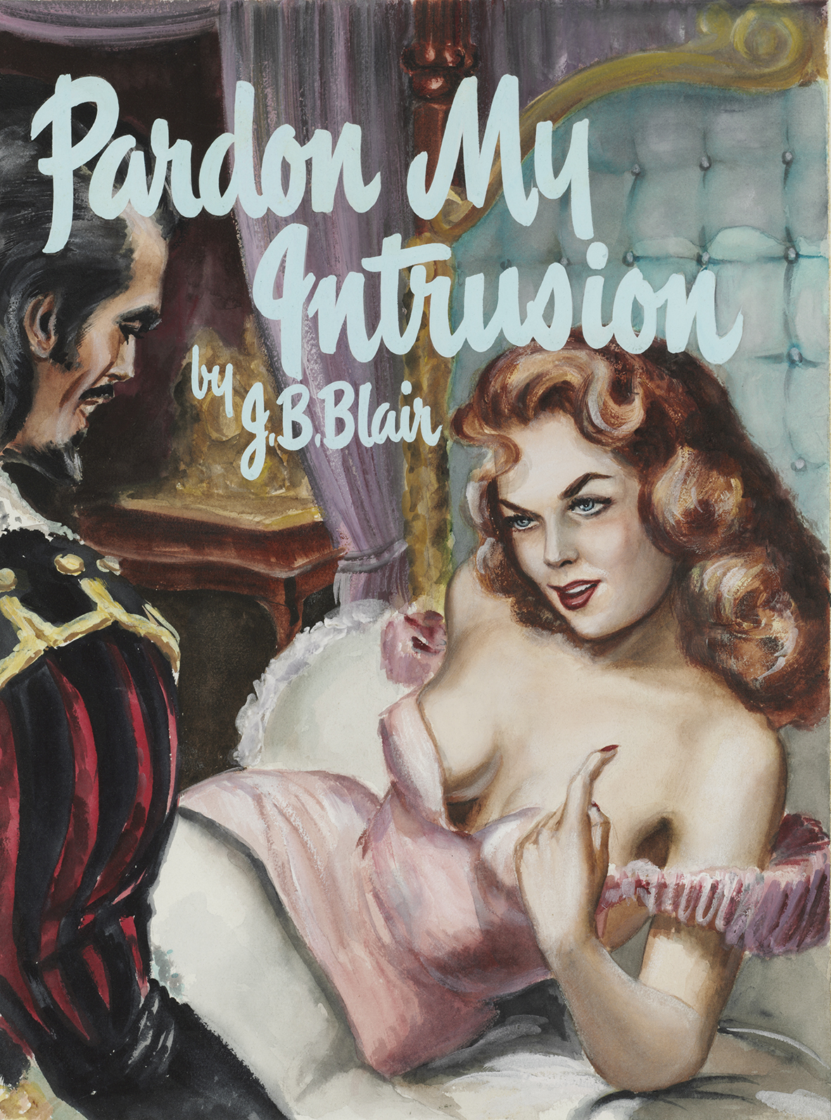 Pardon my intrusion