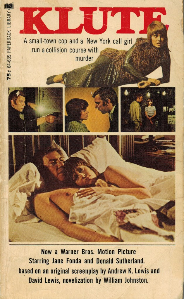 Klute paperback front