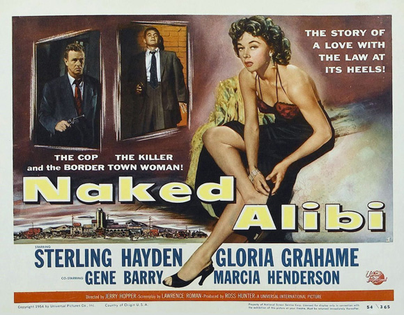 Naked Alibi poster 2