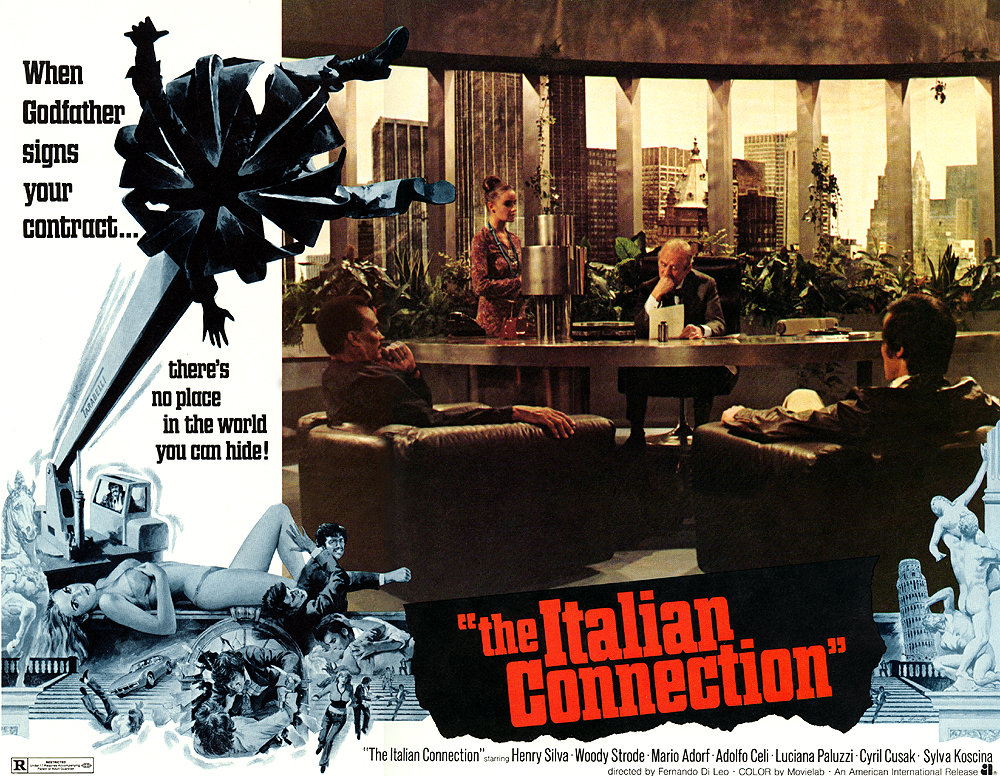 The Italian Connection poster 2