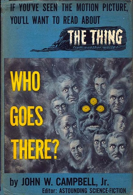 Who Goes There Buccaneer Books 1951