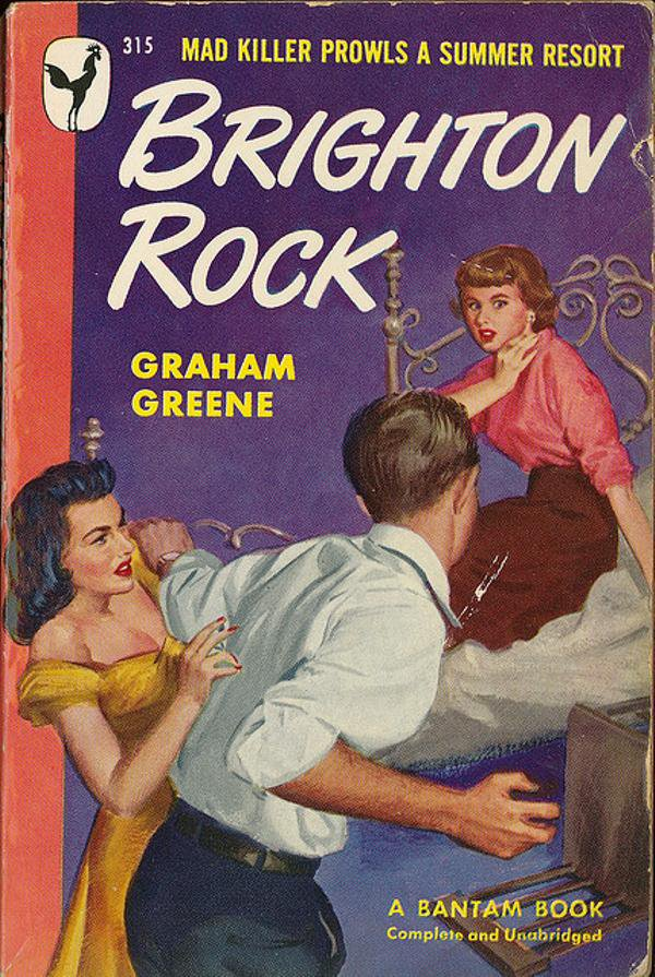 a review of graham greenes 1930 book brighton rock Written by graham greene where does brighton rock rank among all the i've long been a fan of graham greene but had held off reading this book for.