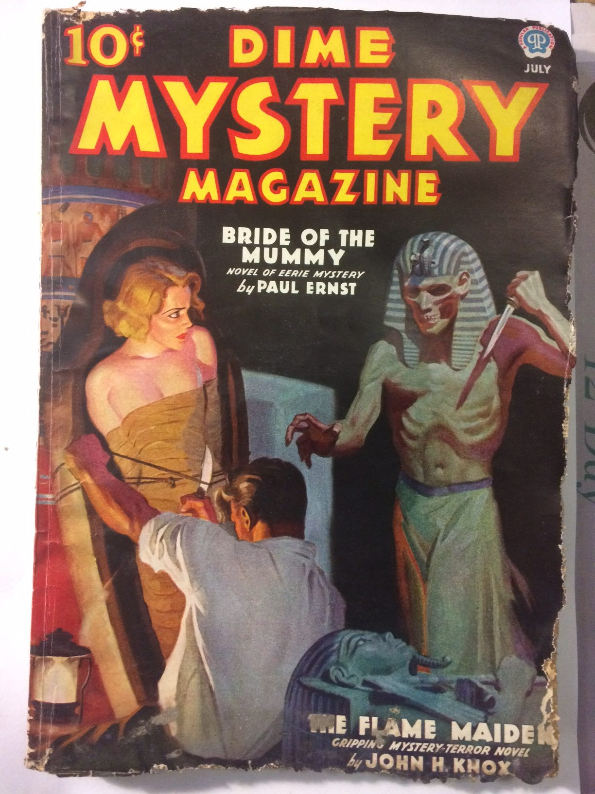 74c058fb52 The pulp magazines under the floorboards | Pulp Curry