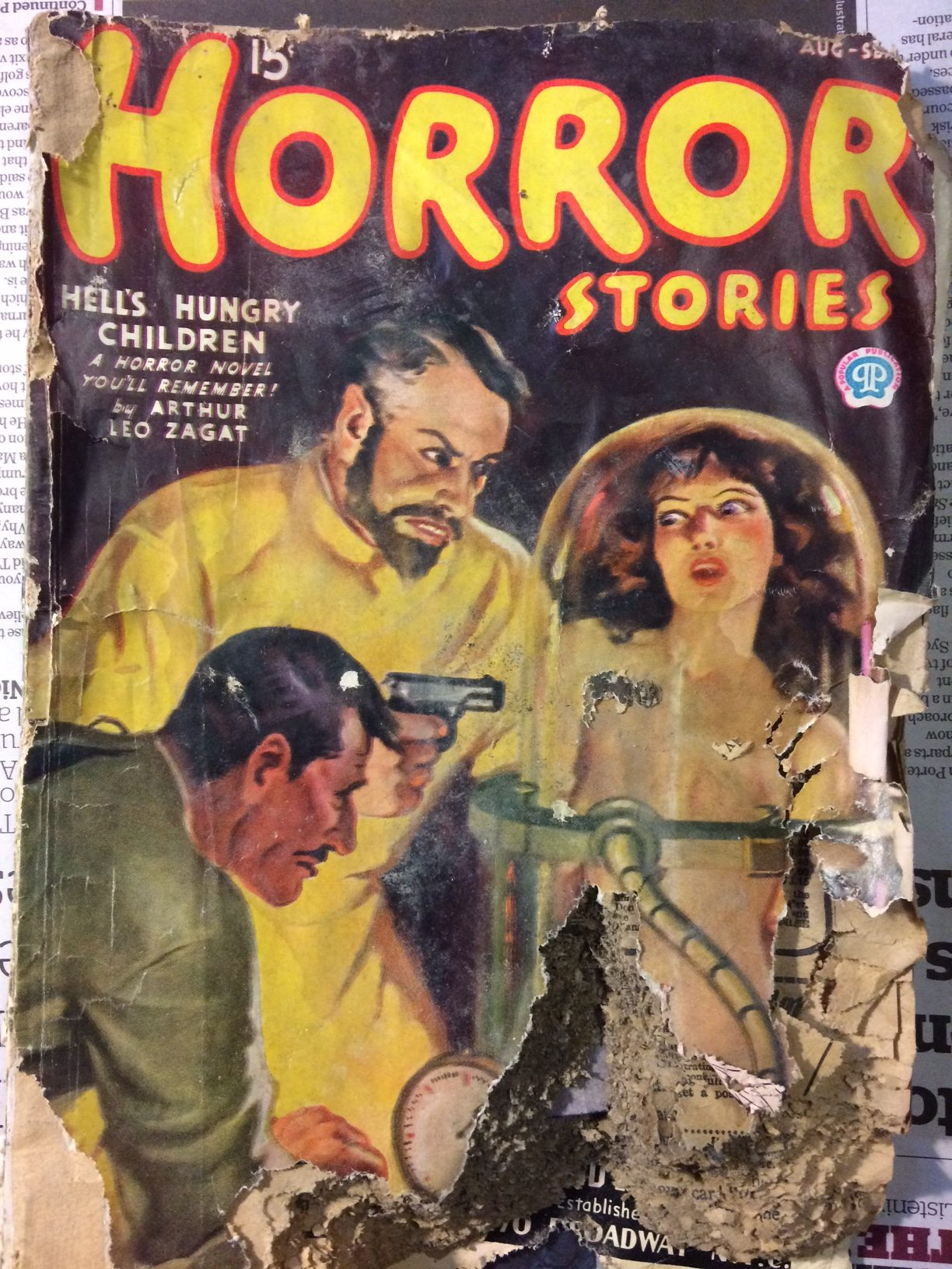 The pulp magazines under the floorboards | Pulp Curry